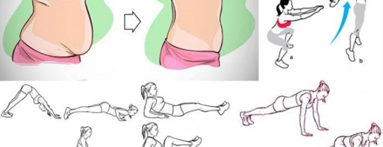 14  Flat Tummy Workouts You Can Do It at Home
