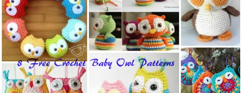 8 Adorable Crochet Owl Patterns (FREE)
