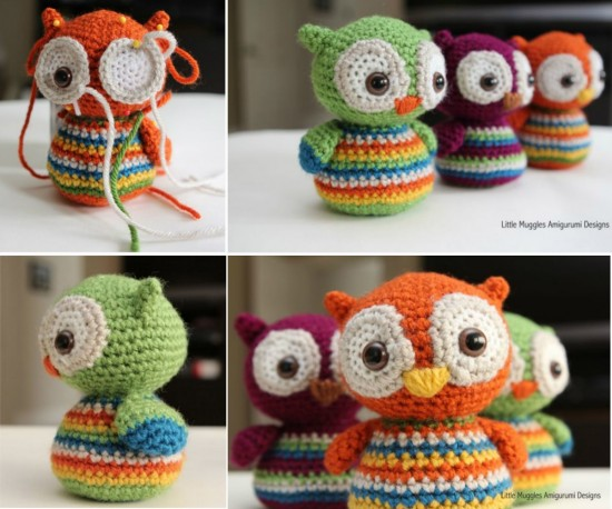 8 Adorable Crochet Owl Patterns Free Beesdiy