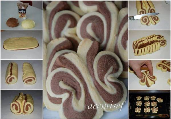 Butterfly Roll-Up Cookie Recipe