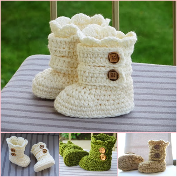 Classic Snow Boots Crochet Pattern