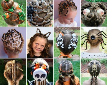 Creative DIY Halloween Hairstyles