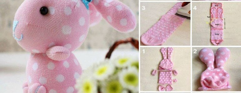 Cute Sock Bunny DIY Tutorial