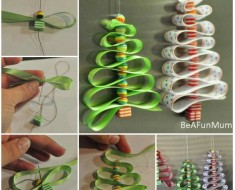 DIY-Bead-And-Ribbon-Christmas-Tree