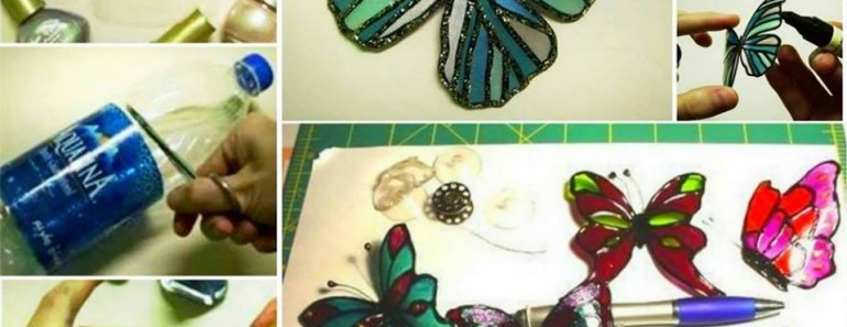DIY Plastic Bottle Butterfly Tutorial
