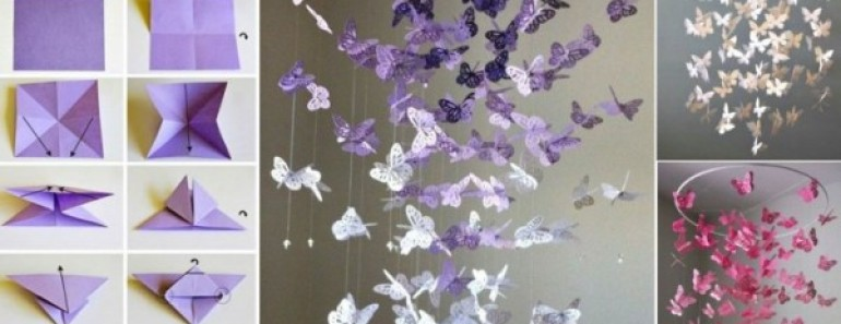 DIY Butterfly Mobile Tutorials