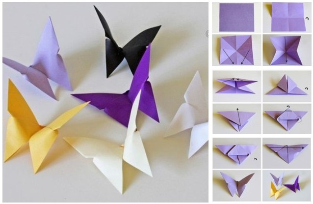 DIY Butterfly Mobile Tutorials2