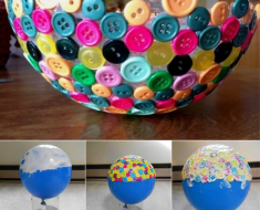 Creative-Button-Bowl DIY