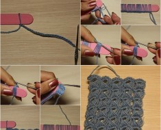 Crochet Broomstick Lace Pattern