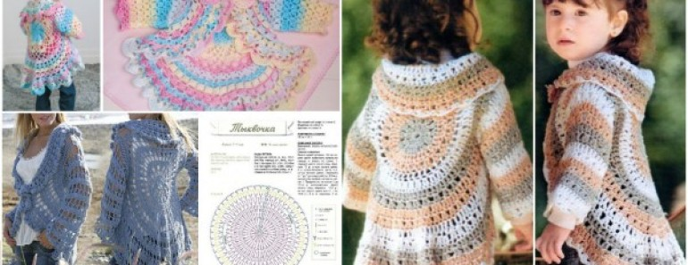 DIY Pretty Crochet Jacket Pattern