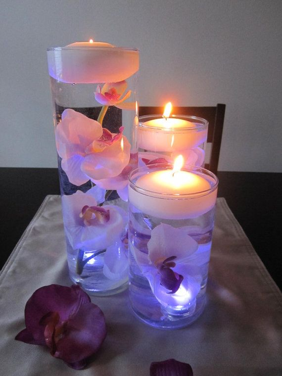 DIY Floating Candle Centerpiece tutorial3