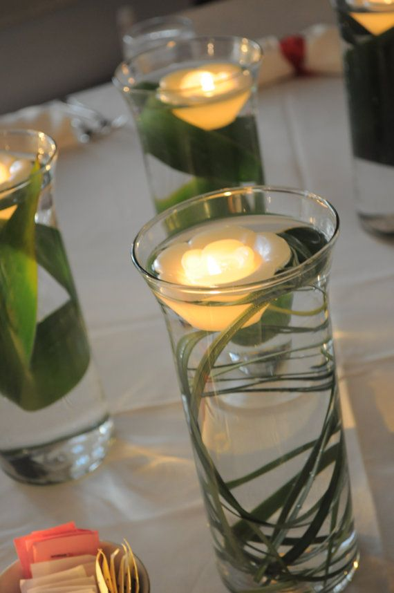 Diy floating candle centerpieces tutorial beesdiy