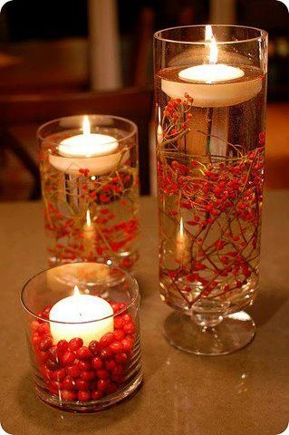 DIY Floating Candle Centerpiece tutorial7