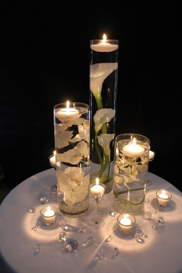 DIY Floating Candle Centerpiece tutorial8