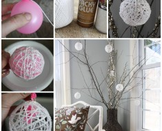 DIY-Glittery-Snowballs-christmas-ornament tutorial
