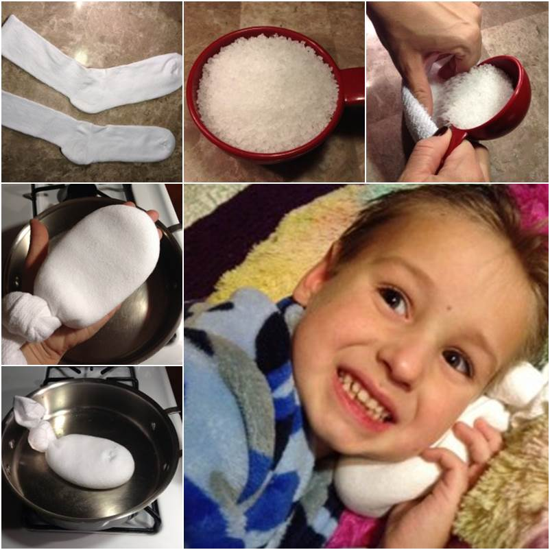 Magical Salt Sock DIY for Ear Infection Relief