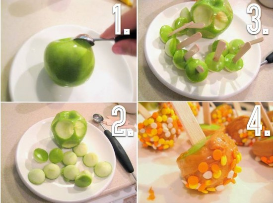 DIY Mini Caramel Apples Recipe 2