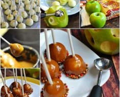 DIY Mini Caramel Apples Recipe