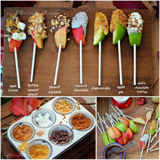 DIY Mini Caramel Apples Recipe 3