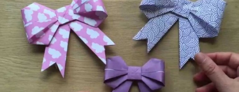 How to DIY Paper Bow Easily