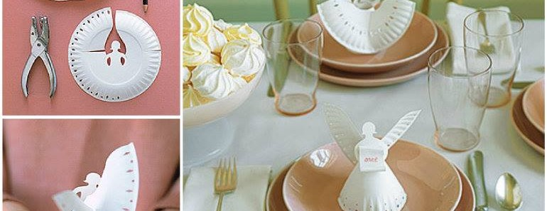 DIY Paper Plate Angels Tutorial