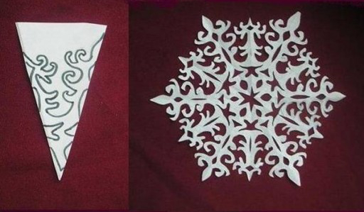 DIY Paper Snowflake (freeTemplate)3
