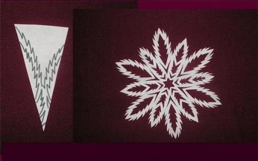 DIY Paper Snowflake (freeTemplate)5