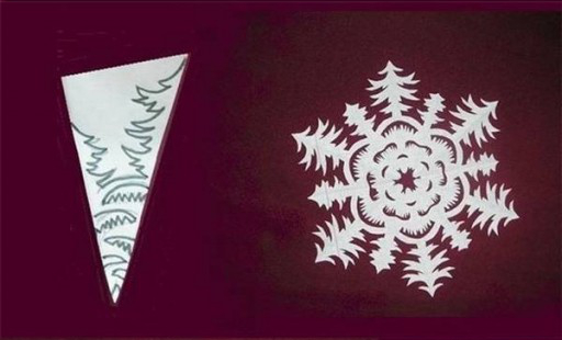 DIY Paper Snowflake (freeTemplate)6