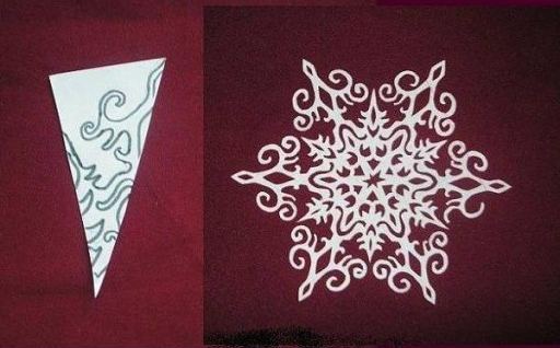 DIY Paper Snowflake (freeTemplate)7
