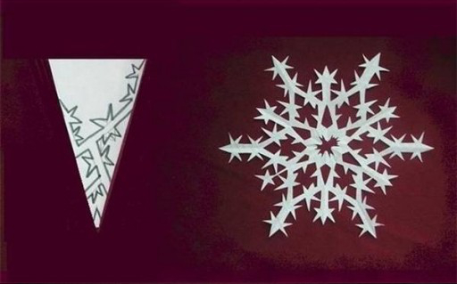 DIY Paper Snowflake (freeTemplate)9