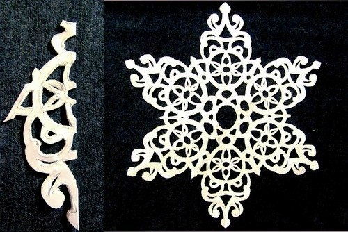 DIY Paper-Snowflake from-Template11
