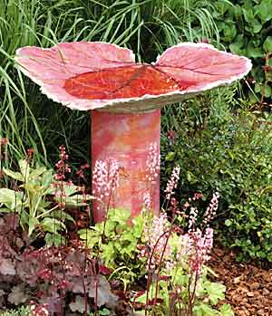 Sand Cast Birdbath DIY tutorial