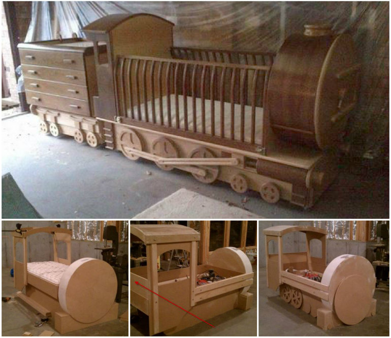 Train-Bed-DIY Tutorial