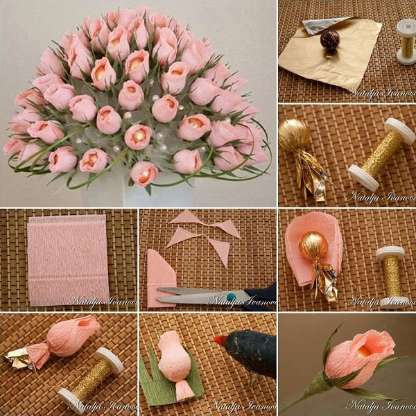 DIY chocolate-flower-bouquet-tutorial