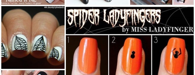 20+ Craziest Halloween Nail Art Ideas