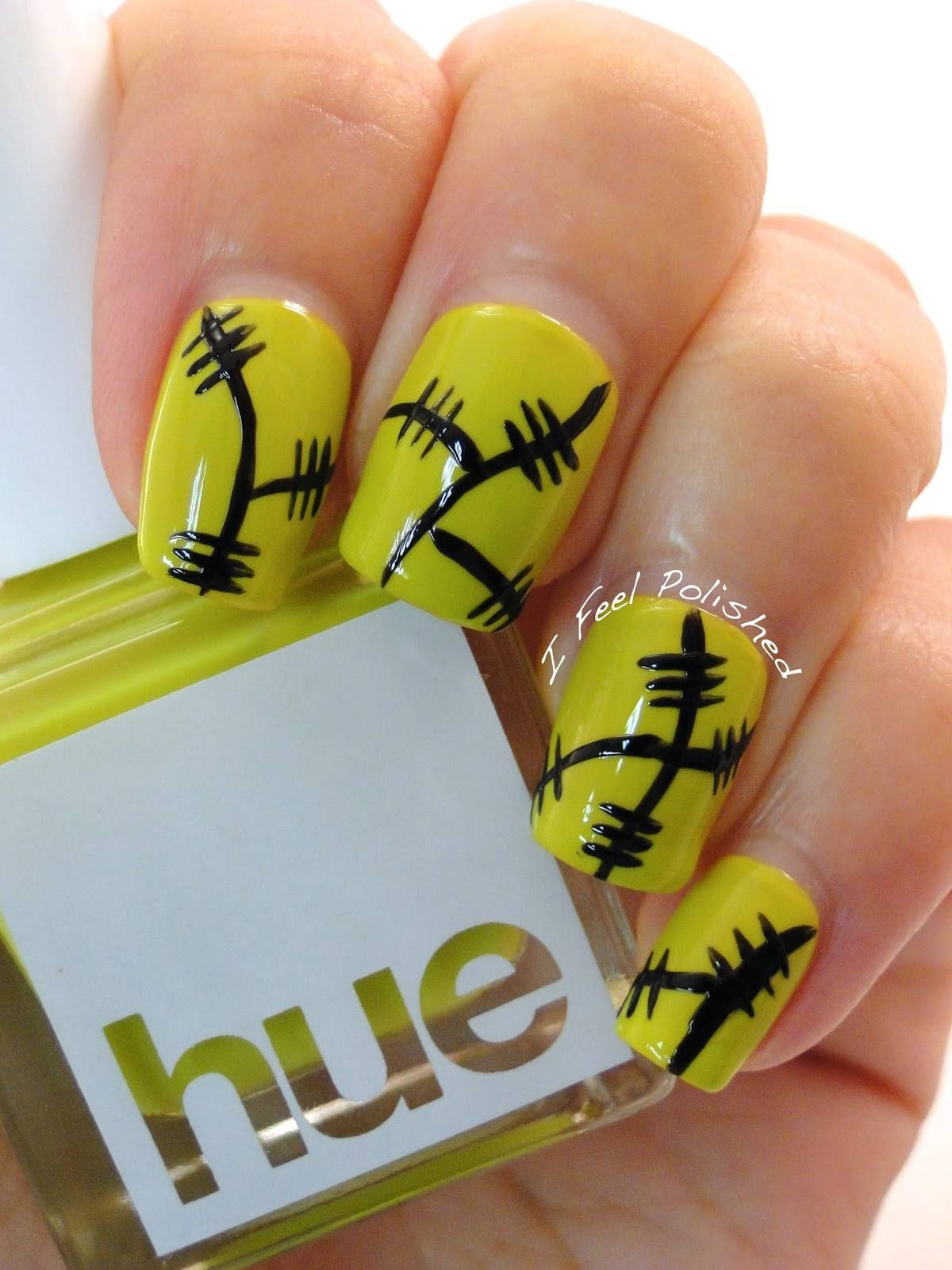 DIY halloween nail art16