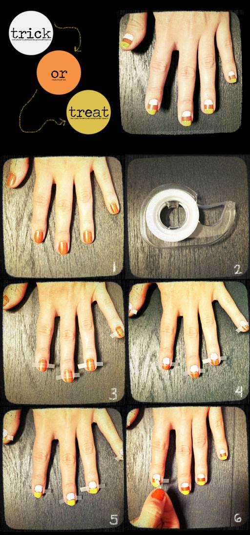 DIY halloween nail art3