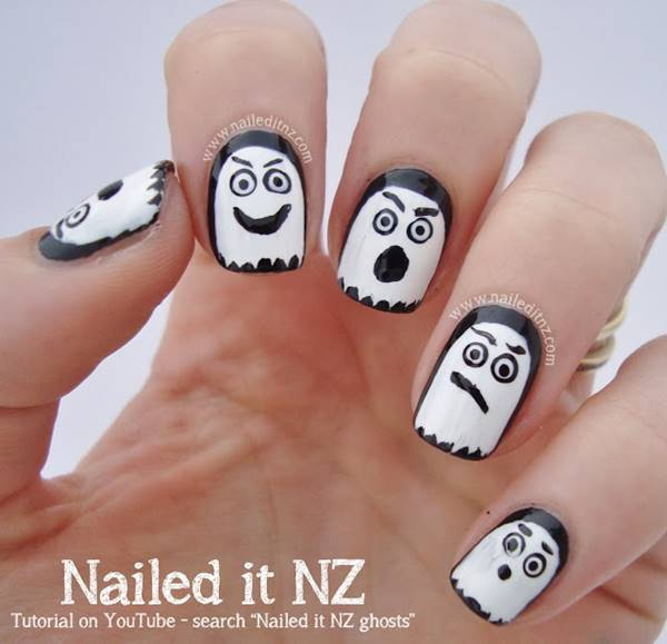 DIY halloween nail art4