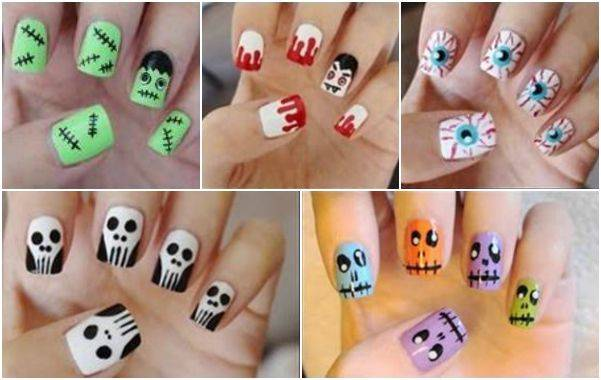DIY halloween nail art6