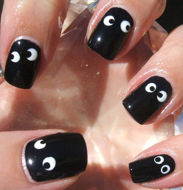 DIY halloween nail art8