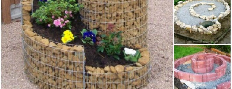 How to Build Herb Spiral Garden