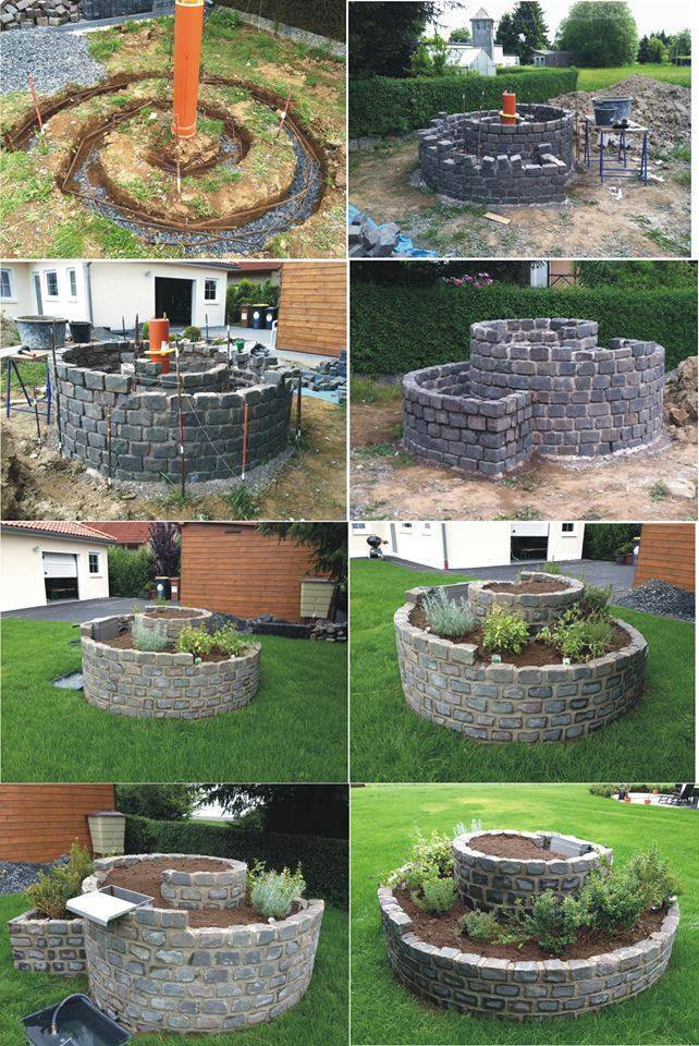 How to Build an Herb Spiral Garden2