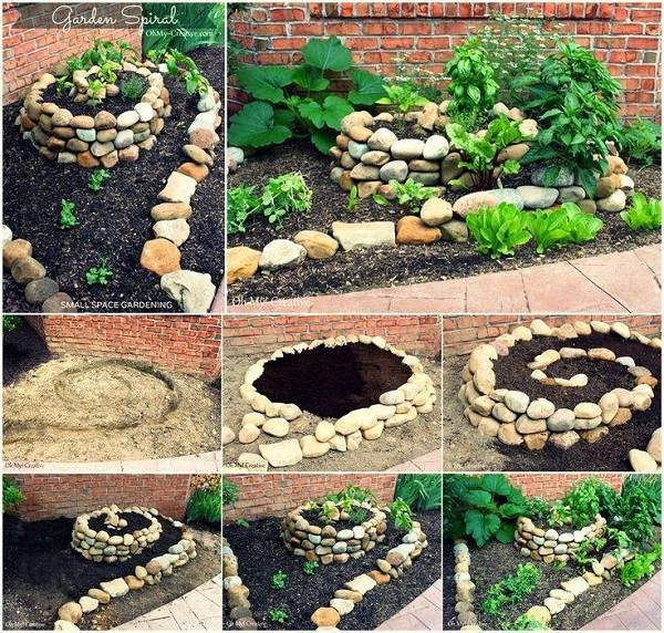 How to Build an Herb Spiral Garden3