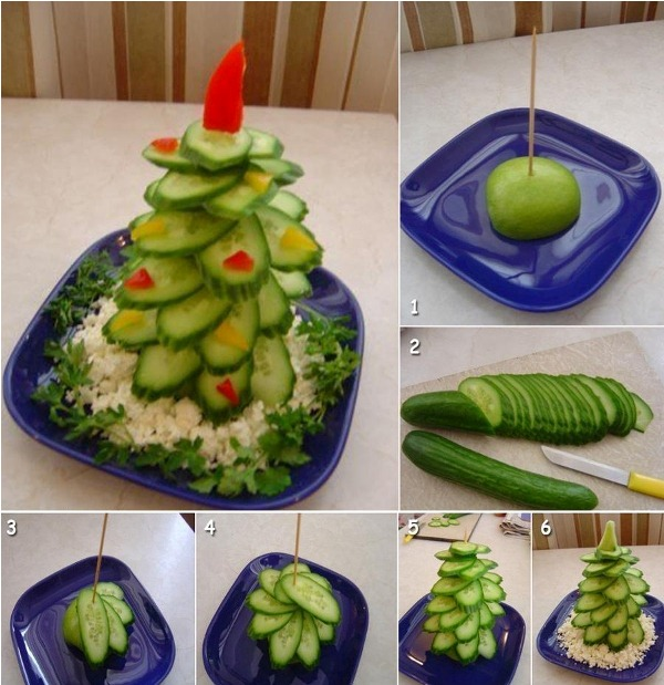 Christmas Tree Platter DIY Ideas