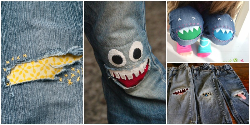 fix jeans in cutest way