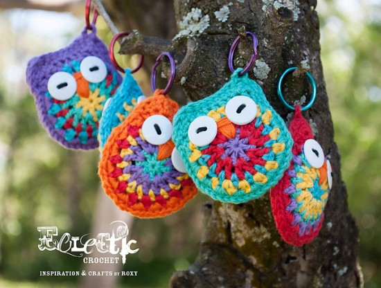 Free Amigurumi Owl Pattern : Adorable crochet owl patterns free beesdiy