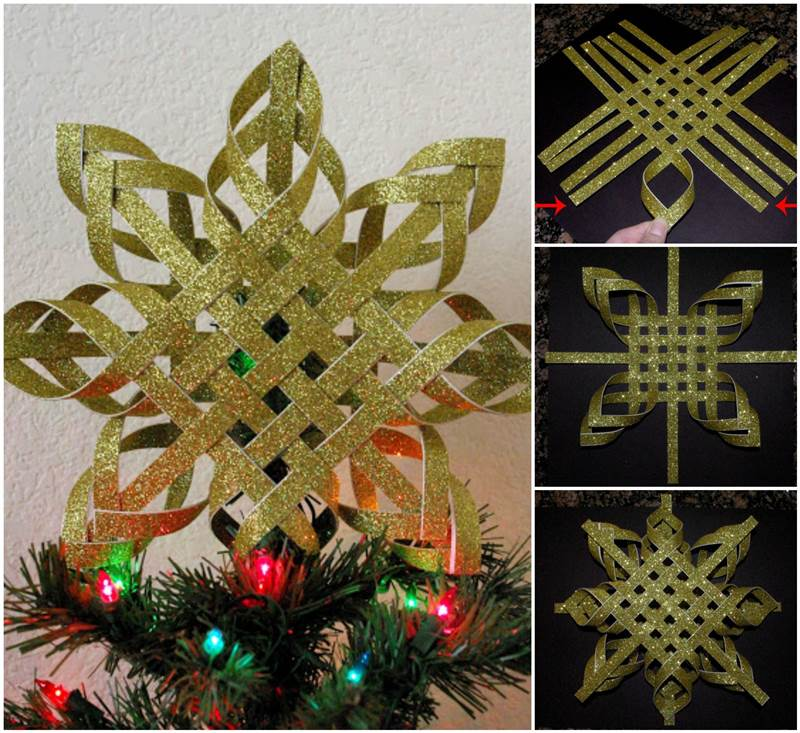 Paper Snowflake Ornament Diy Tutorial