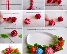 Pretty Rose Headbands DIY