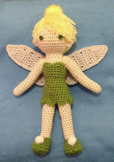 Tinkerbell Crocheted Doll PATTERN