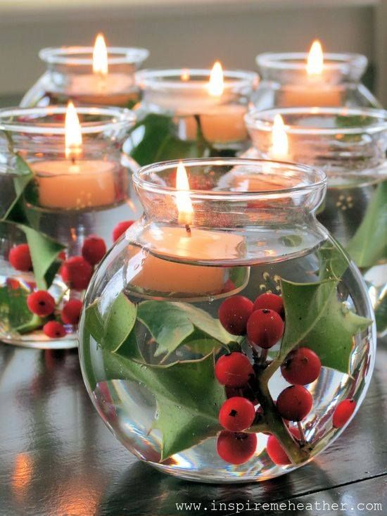 Diy Floating Candle Centerpieces Tutorial Beesdiy Com
